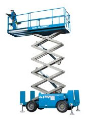 32ft (9.75m)<br />Diesel Scissor Lift