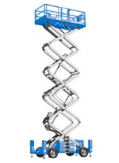 53ft (16.2m) <br />Diesel Scissor Lift
