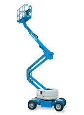 45ft (13.9m)<br />Electric Knuckle Boom Lift
