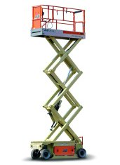 20ft (6.10m)<br /> Electric Scissor Lift