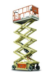 26ft (7.92m)<br /> Electric Scissor Lift