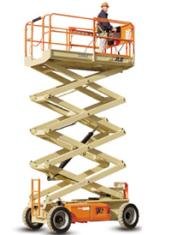 40ft (12.19m) <br />Electric Scissor Lift