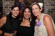 HRIA Night Genie Club 2 - Renae and Lauren with Kate Ceberano