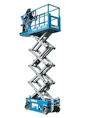 19ft (5.8m)<br /> Electric Scissor Lift