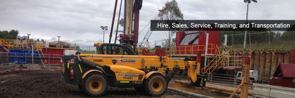 Hire Sales Service Training and Transportation