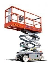 15ft (4.57m)<br /> Electric Scissor Lift