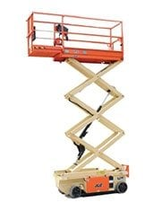 19ft (5.64m)<br /> Electric Scissor Lift