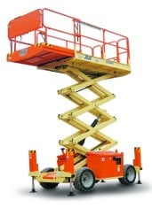 26ft (7.92m) <br />Diesel Scissor Lift